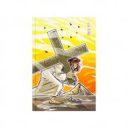 Bíblia Sagrada Sacrifício | NAA | Capa Dura | Amarela