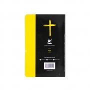 Bíblia Sagrada Neon   AEC   Letras Vermelhas   Capa Semiluxo