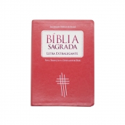 Bíblia Sagrada | NTLH | Capa Luxo | Pêssego