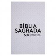 Bíblia Sagrada | Nvi | Econômica | Capa Bochura | Cinza