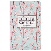 Bíblia Sagrada | NVI | Capa Flexível | Rosa e Verde