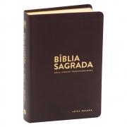 Bíblia Sagrada | NVT | Letra Grande | Marrom