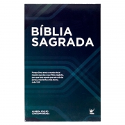 Bíblia Sagrada Petróleo | AEC | Letras Vermelhas | Capa Brochura