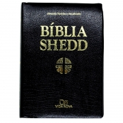 Bíblia Shedd | ARA | Capa Covertex | Preta