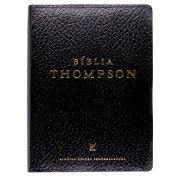 Bíblia Thompson | AEC | Couro Sintético | Preta
