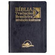 Bíblia Tradução Brasileira | TB | Capa Couro | Preta