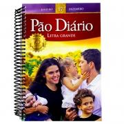 Devocional: Pão Diário Vol. 17   Capa Família   Espiral