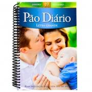 Devocional: Pão Diário Vol. 19 | Capa Família | Espiral | Letra Grande