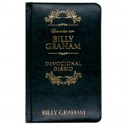 Dia A Dia Com Billy Graham | Capa Couro Luxo