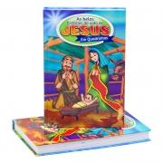 Livro: As Belas História da Vida de Jesus em Quadrinhos | Cpp