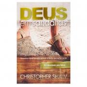 Livro: Deus Em Sandálias | Christopher Shaw