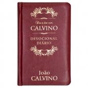 Livro: Dia a Dia com Calvino | Devocional | Capa Pu Luxo | João Calvino