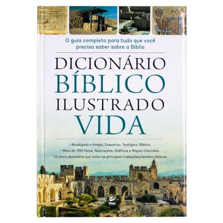 Livro: Dicionário Biblico Ilustrado Vida