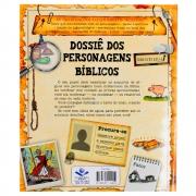 Livro: Dossiê Dos Personagens Bíblicos   Infantil   Capa Brochura Amarela
