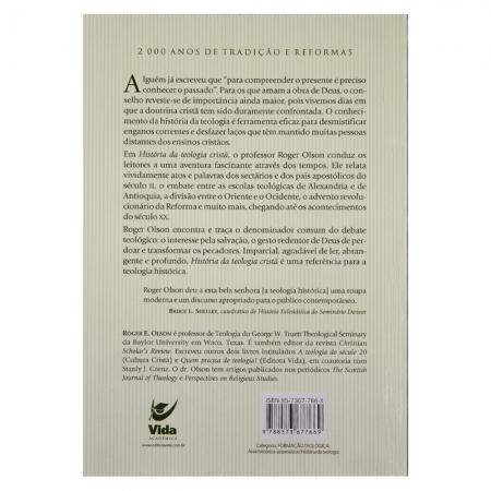 Livro: Historia Da Teologia Cristã | Roger E. Olson