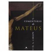 Livro: O Comentário De Mateus | D. A. Carson