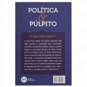 Livro: Política E Púlpito - O Que Deus Requer? | Jeffery J. Ventrella