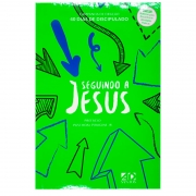Livro: Seguindo a Jesus - Capa Verde | 40 Dias de Discipulado