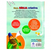 Minha Bíblia Criativa | Infantil | Capa Brochura Luxo | Ilustrada