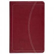 Minha Bíblia de Oração Stormie Omartian   NVI   Capa Luxo   Vinho E Laranja