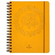 Planner Anual Permanente Meu Plano Perfeito | Capa Dourada