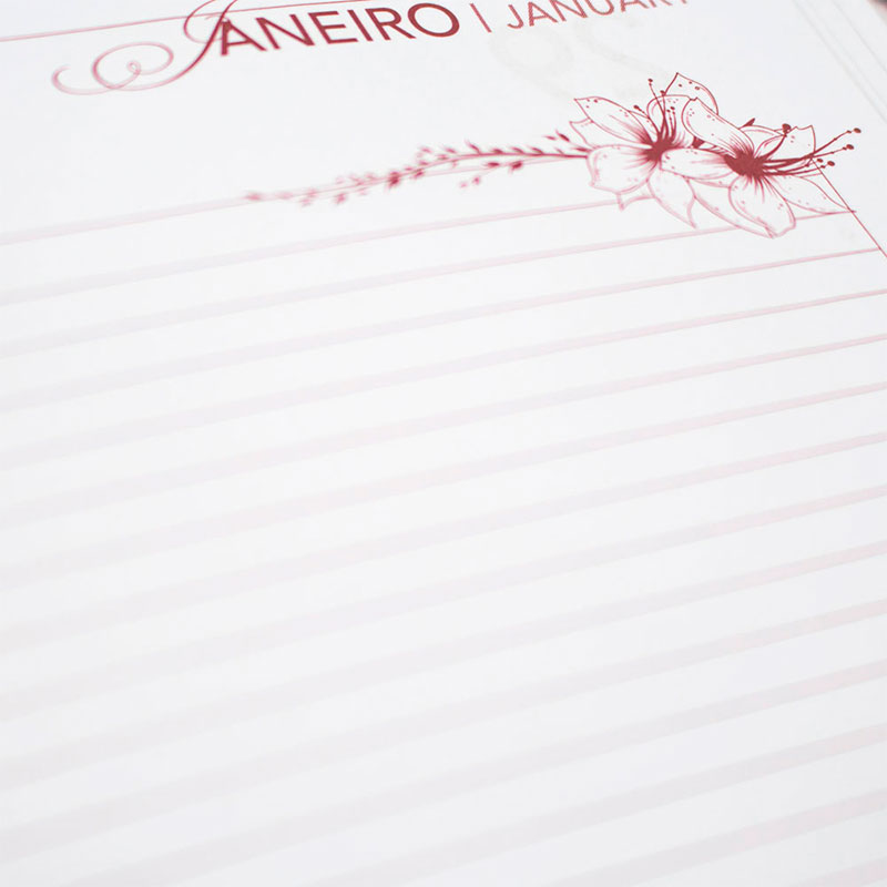 Agenda Executiva Permanente Feminina | Cinza