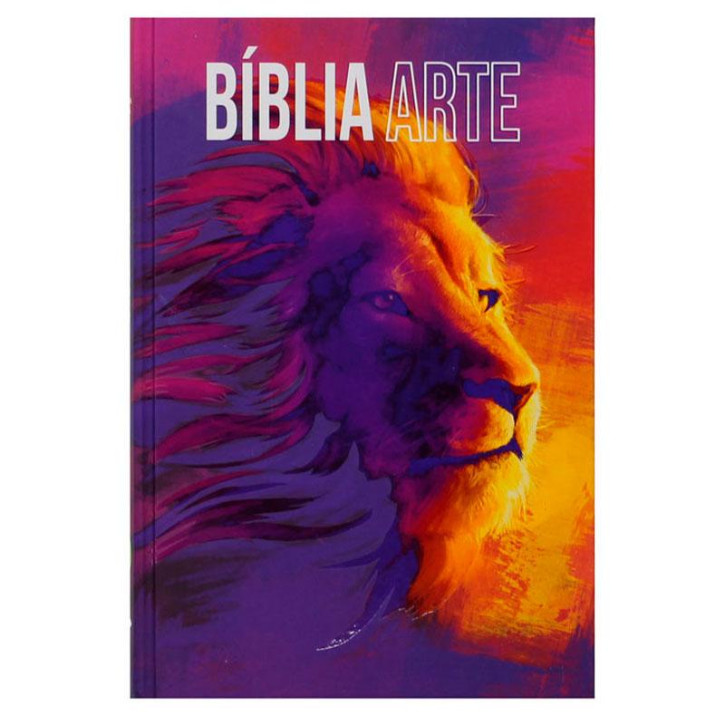 Bíblia Arte Força   NAA   Capa Dura   Ilustrada