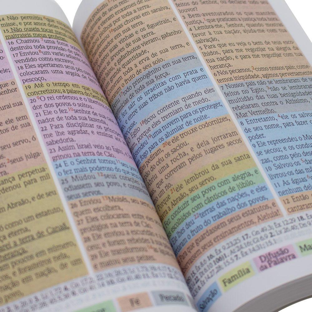Bíblia Colorida Jovem Feminina | SBU | Capa Brochura | Rosa Claro