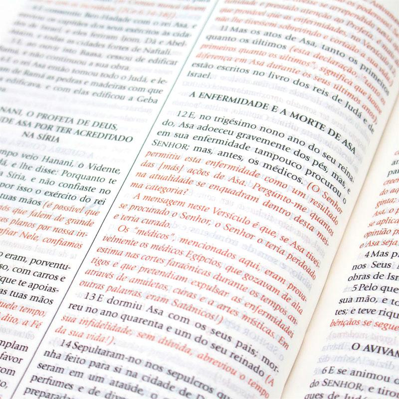 Bíblia De Estudo Do Expositor | NVTE | Capa Bonded | Letra Média | Preta