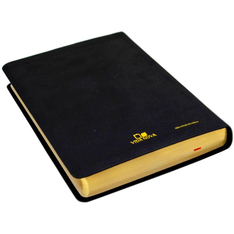 Bíblia De Estudo Esperança   Almeida Século 21   Capa Pu   Preta