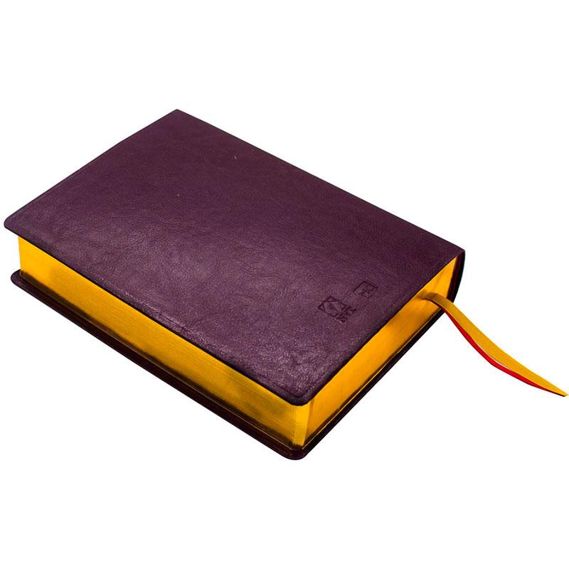 Bíblia De Estudo   NVT   Capa Pu   Vinho