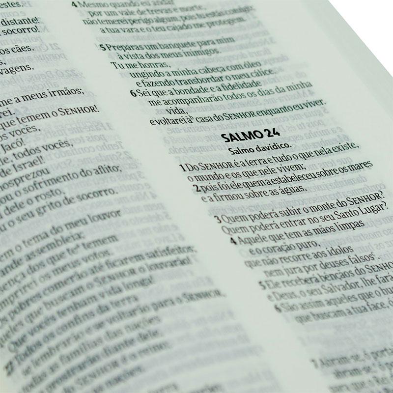 Bíblia De Evangelismo Ele Estará Com Você | NVI | Brochura | Branca