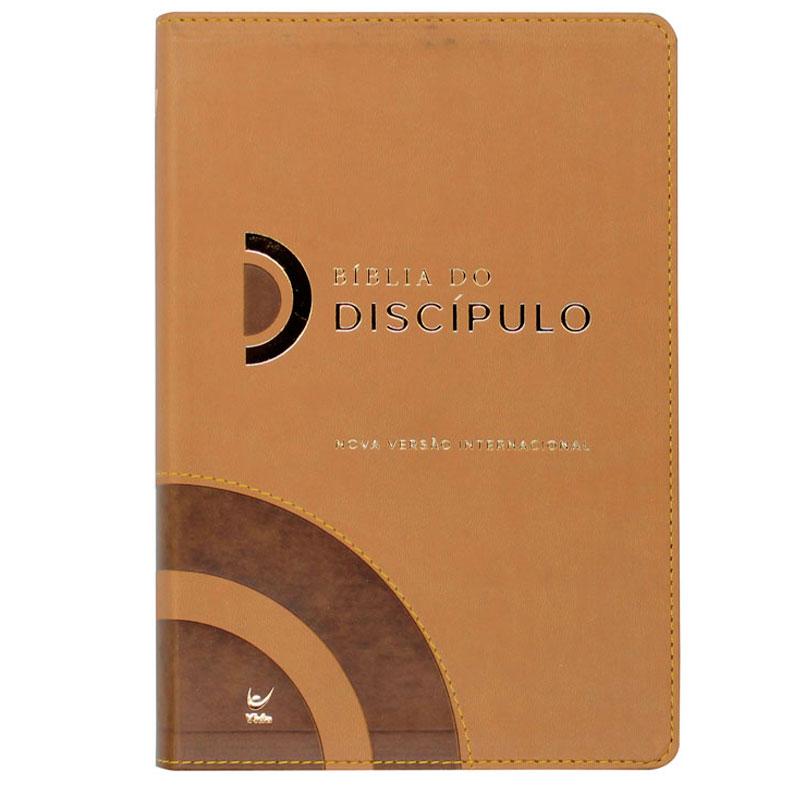 Bíblia Do Discípulo | NVI | Capa Luxo | Marrom
