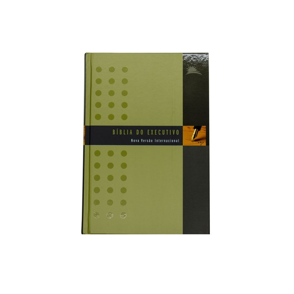 Bíblia Do Executivo   NVI   Capa Dura   Verde E Preta