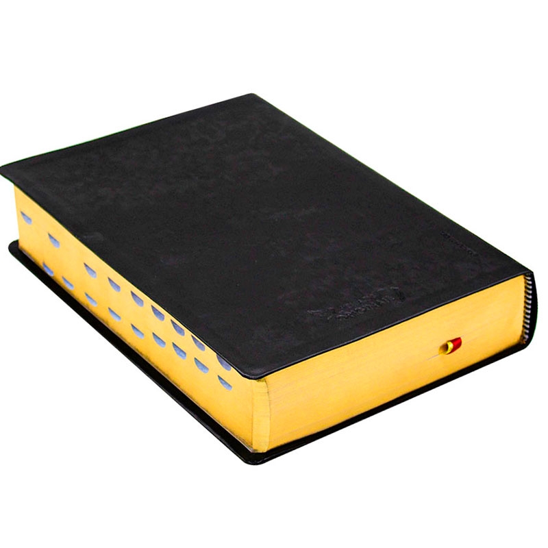 Bíblia Do Pregador Pentecostal Com Índice | NAA | Couro Sintético | Preta