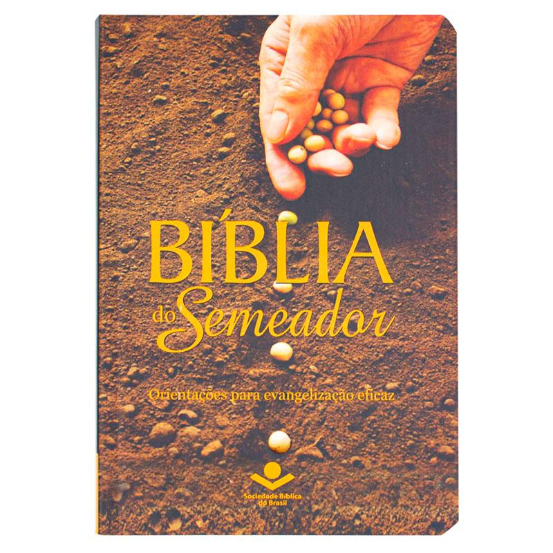Bíblia Do Semeador Com Notas E Referências   NTLH   Capa Semiflexível   Ilustrada