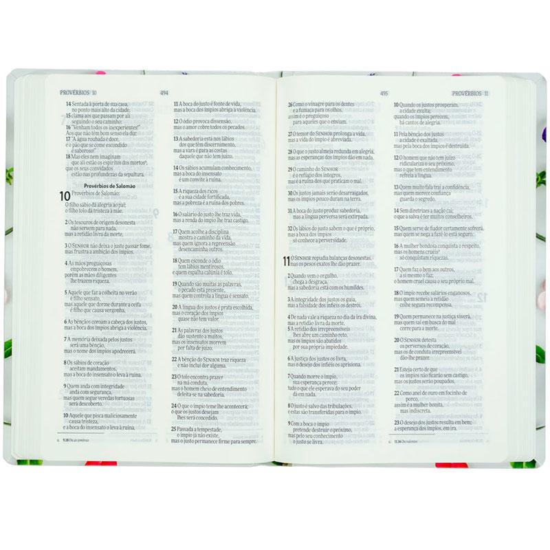 Bíblia Ele Me Ama   NVI   Capa Semiluxo   Colorida