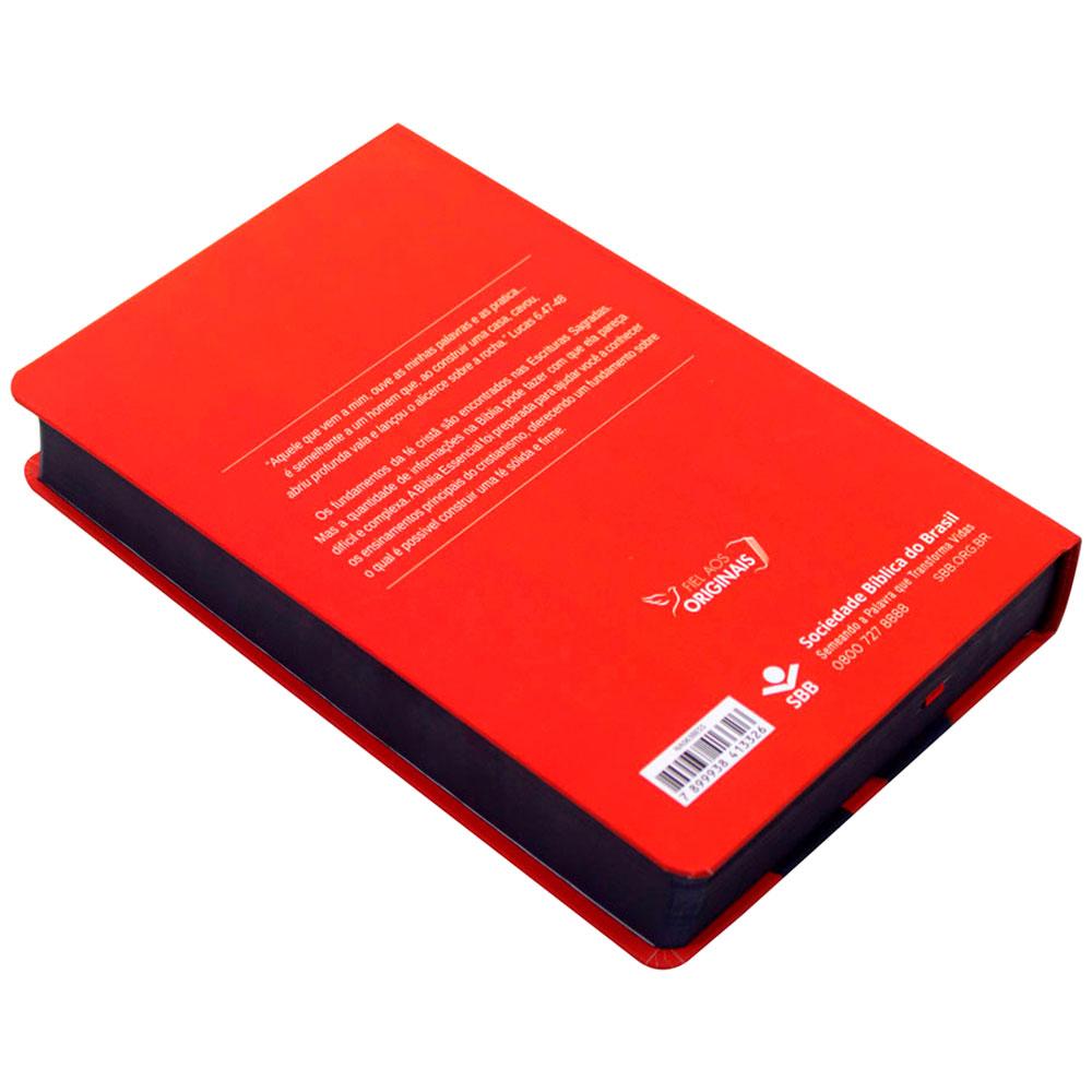 Bíblia Essencial   NAA   Capa Dura   Vermelho