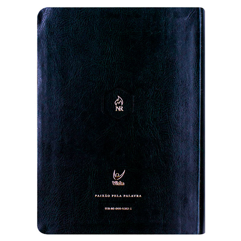 Bíblia Nova Reforma   NVI   Luxo   Capa PU Verde