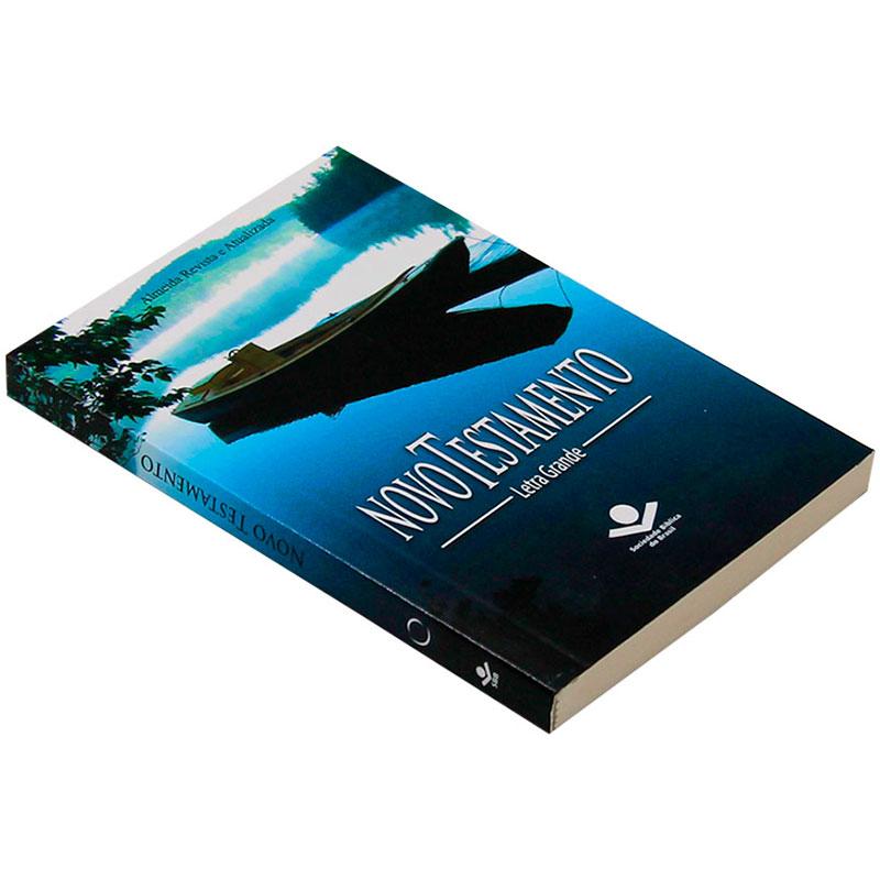 Bíblia: Novo Testamento | Ara | Edição de Bolso | Capa Brochura Azul