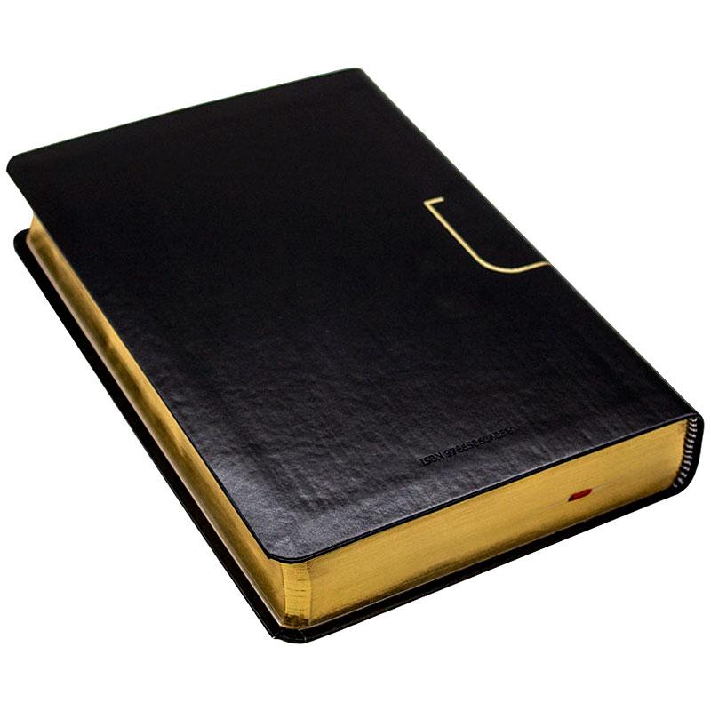 Bíblia Pregação Expositiva | ARA | Capa Luxo | Preta