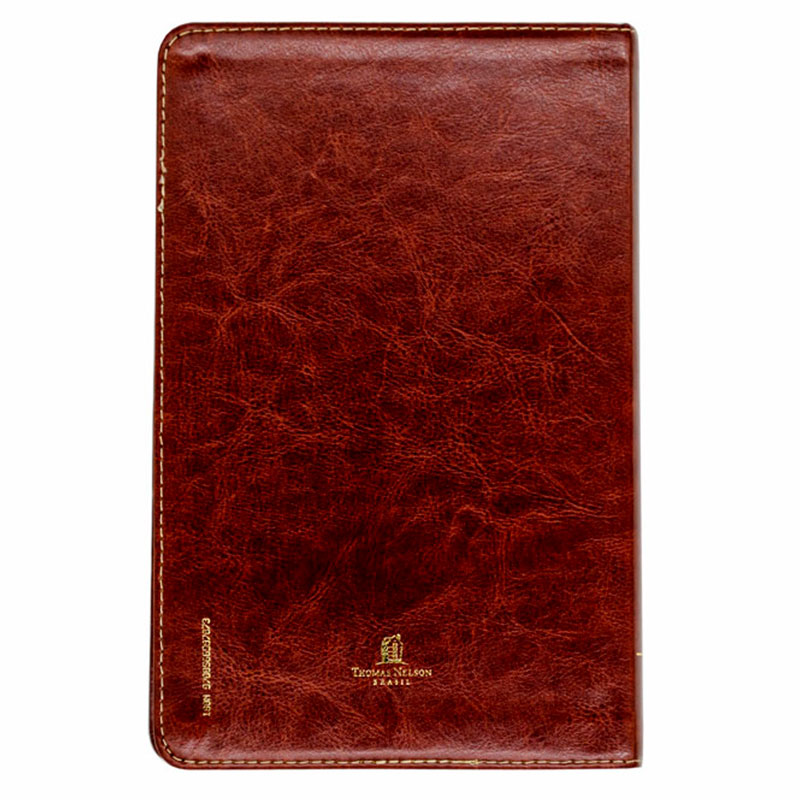 Bíblia Sagrada   ACF   Capa Couro Soft   Marrom