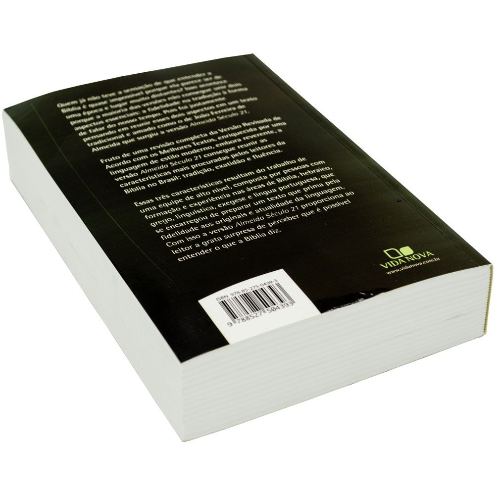 Bíblia Sagrada   Almeida Século 21   Capa Brochura   Verde