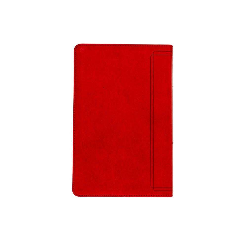 Bíblia Sagrada | Almeida Século 21 | Capa Semiluxo | Vermelha e Areia