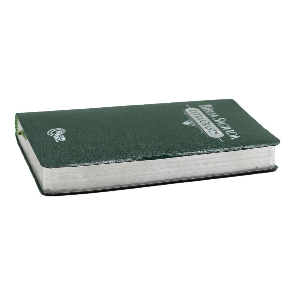 Bíblia Sagrada   Arc   Capa Corvetex   Letra Grande   Verde