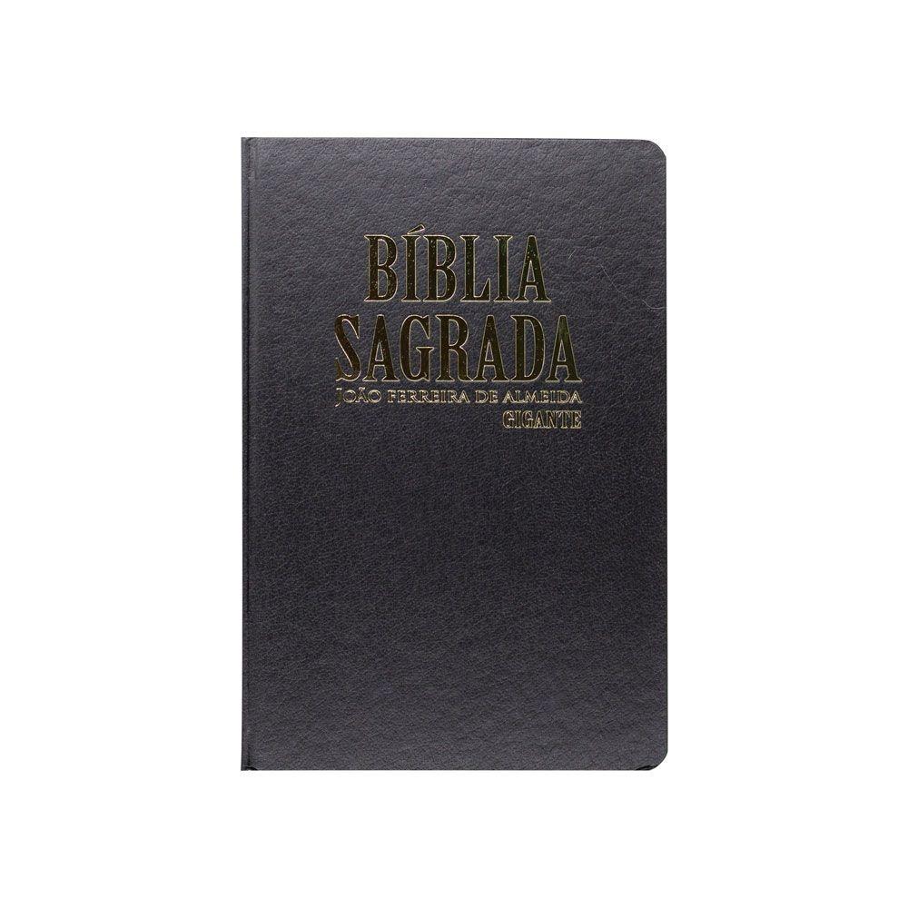 Bíblia Sagrada | ARC | Capa Dura | Letra Gigante | Preta