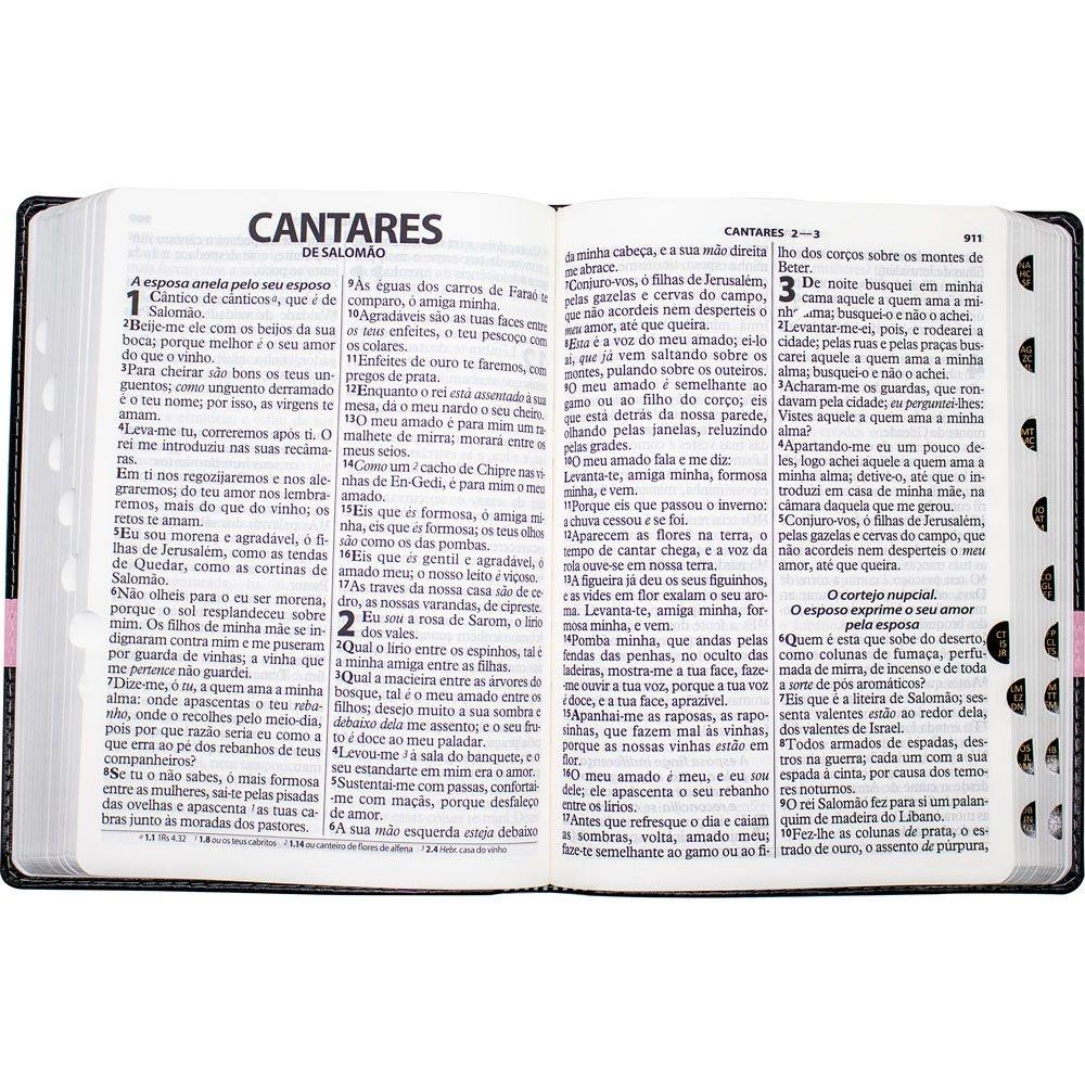 Bíblia Sagrada | ARC | Capa Pu | Preta