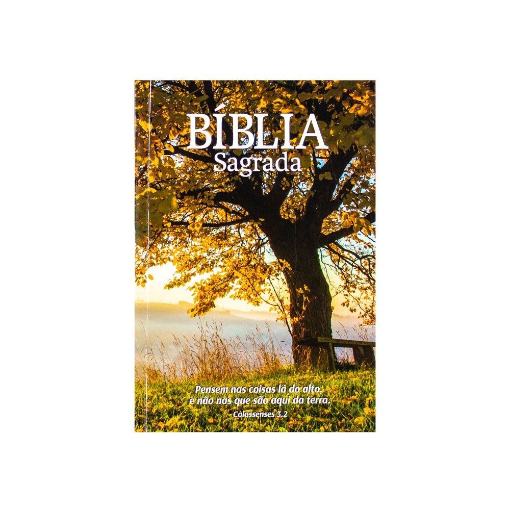 Bíblia Sagrada Árvore | NAA | Capa Brochura | Ilustrada