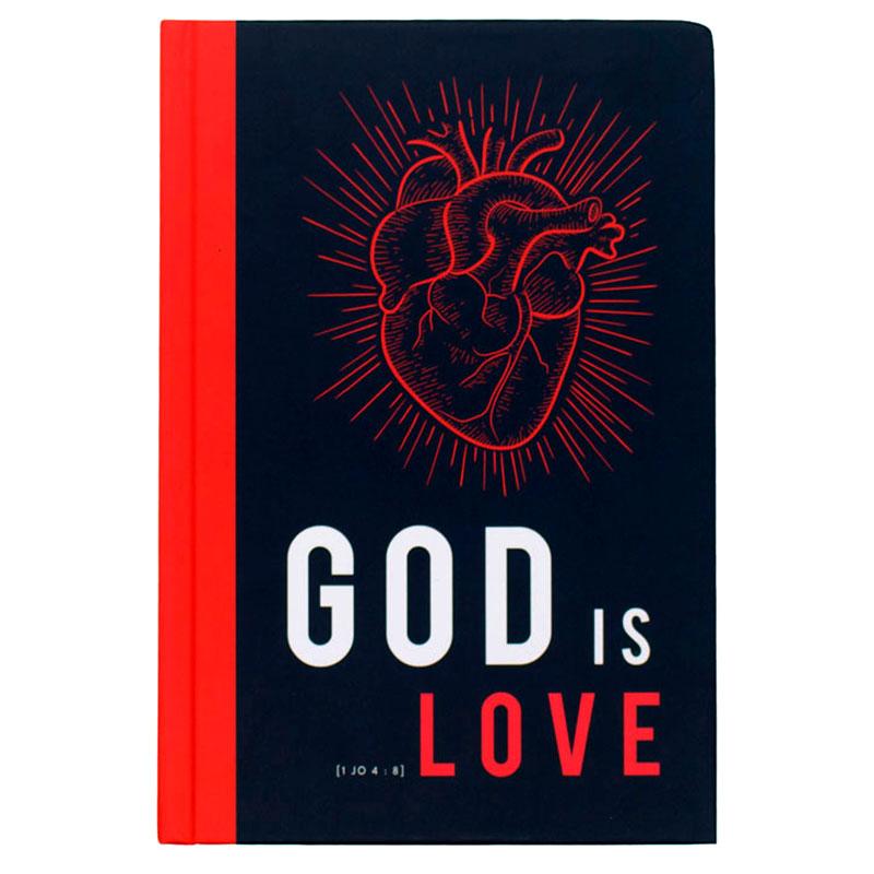 Bíblia Sagrada God Is Love | NVT | Capa Dura | Preta