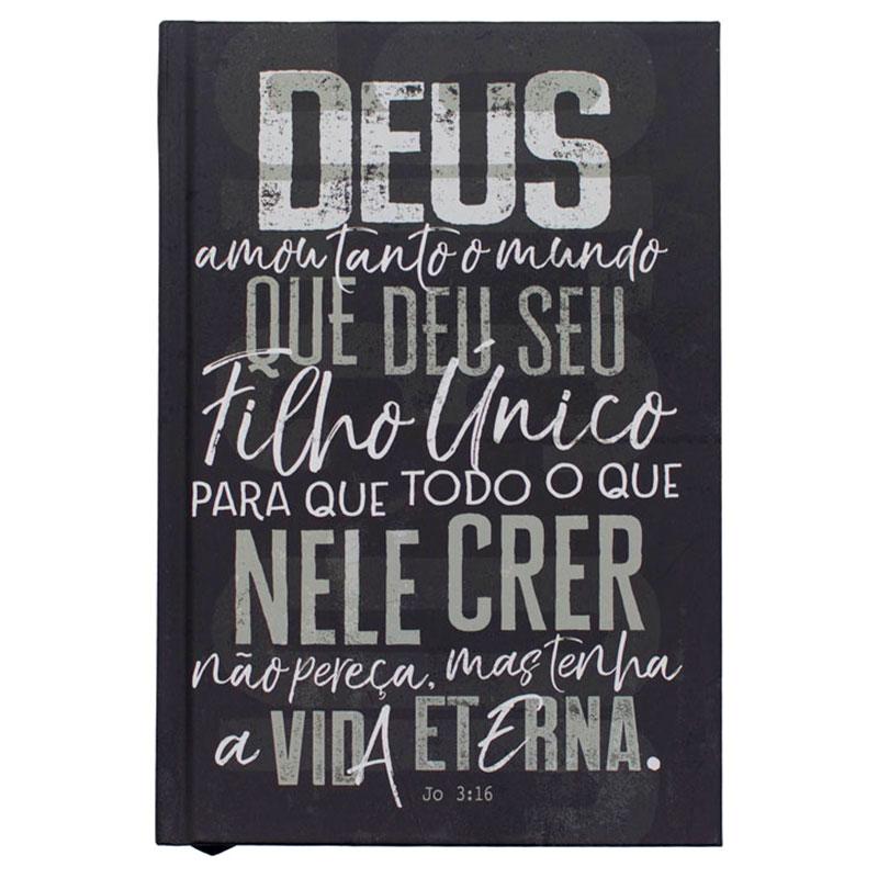 Bíblia Sagrada João 3.16   NVT   Capa Dura   Chumbo